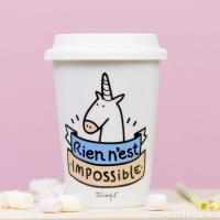 Mug Take away Rien n'est impossible