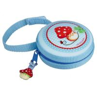 Boîte à tétine bleue