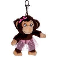 Porte-clés singe - Princesse Lillifée