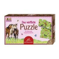 Puzzle casse tête Chevaux