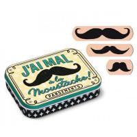 Boîte à pansements Moustaches