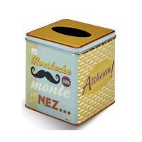 Boîte à mouchoir Moustache