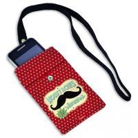 Housse portable Moustaches