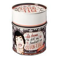 Boîte à coton-tiges La Dame
