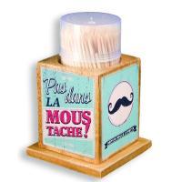 Boîte à cure dents Moustache