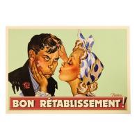 Carte Postale Bon Rétablissement