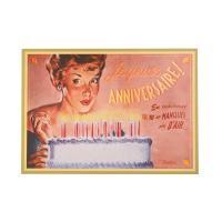 Carte Postale Gâteau D'Anniversaire