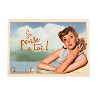 Carte postale Je Pense à Toi
