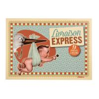 Carte Postale Livraison Express