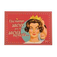 Carte Postale Sacrée Maman