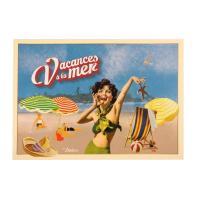 Carte Postale Vacances à la mer