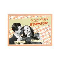 Carte postale Bonheur