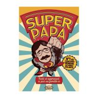 Carte postale Super Papa