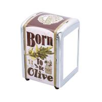 Distributeur à serviettes Born to be olive