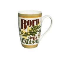 Mug Born to be olive