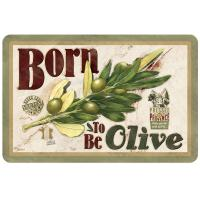Set de table Born to be Olive