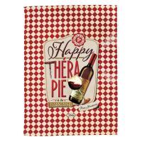 Torchons Happy thérapie-vin