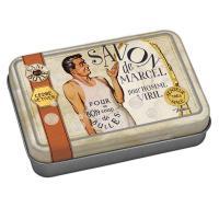 La boîte et son savon Savon de marcel