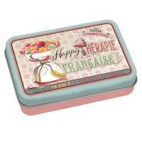 La boîte et son savon Happy thérapie-macaron