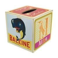 Boîte à mouchoirs Cubes de jeux