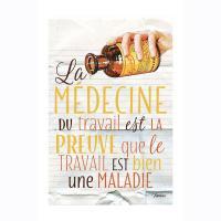 Plaque métal MM Médecine du travail