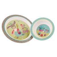 Set de vaisselle Les Jolis Pas Beaux
