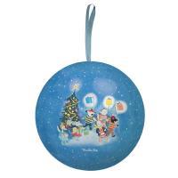 Boule de Noël  bleue La Grande Famille