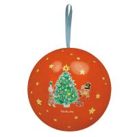 Boule de Noël rouge La Grande Famille