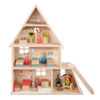 Maison de poupée avec mobilier La Grande Famille