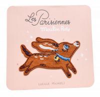 Patch brodé chien - Les Parisiennes