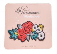 Patch brodé fleurs - Les Parisiennes