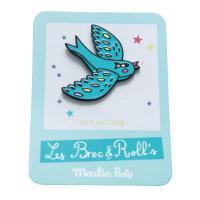 Pin's oiseau Les Broc'n Rolls