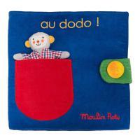 "Livre en tissu ""Au dodo""- Les Popipop"