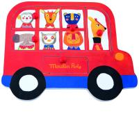 Puzzle encastrable bus Les Popipop