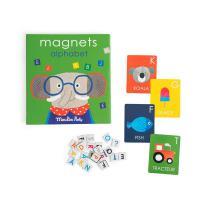Jeu magnétique alphabet -Les popipop