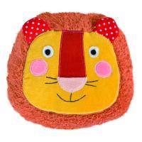 Coussin tête lion Les Popipop