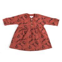 Colette robe imprimée guépards