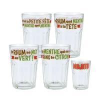 Set de 4 verres Mojito