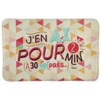 Tapis de bain P'tits triangles