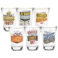 Set de 6 verres Shot Supporters