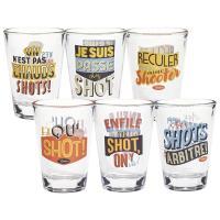 Set de 6 verres Shot Supporters