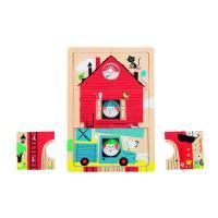 Puzzle à étages Les Bambins