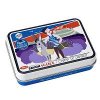 La boîte et son savon Marcel kiffe la Provence