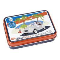 La boîte et son savon Marcel se la pète sur la côte d'Azur