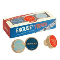 Coffret 3 bouchons Excuse my French
