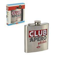 Flasque Le Club des Apérophiles