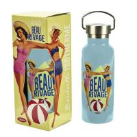 "Bouteille isotherme ""Beau rivage"""
