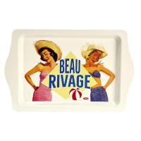 Plateau rectangulaire Beau Rivage
