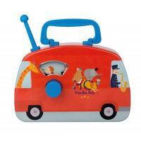 Bus musical cirque Les Jouets métal
