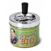 Cendrier poussoir Je fume Bio